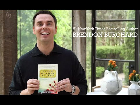 Life's Golden Ticket Giveaway! Free Book from Brendon