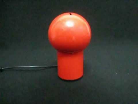 lampada vintage siberin caronno tipo eclisse - YouTube