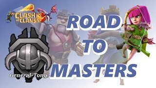 Clash Of Clans | TH8 ROAD TO MASTERS LEAGUE