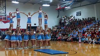 High School Cheerleading Routine For SEPTEMBER 11TH? | What's Trending Now