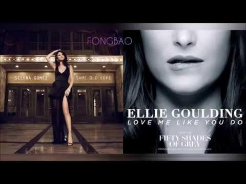 Ellie Goulding Vs. Selena Gomez - Love Me Like Same Old Love (Mashup)