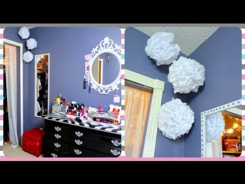 Empty Wall Space Idea & Decorative Lights Solution!💡 - YouTube