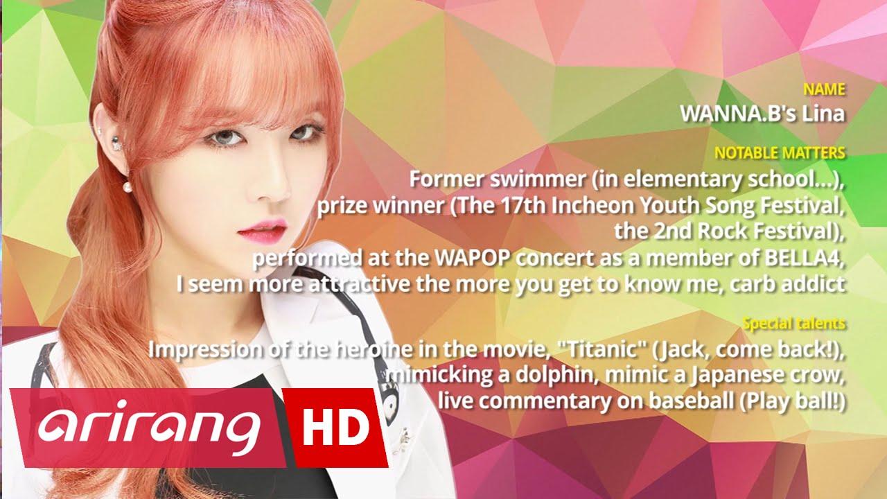 Pops in Seoul _ WANNA.B(워너비) _ Lina(린아) _ Profile - YouTube