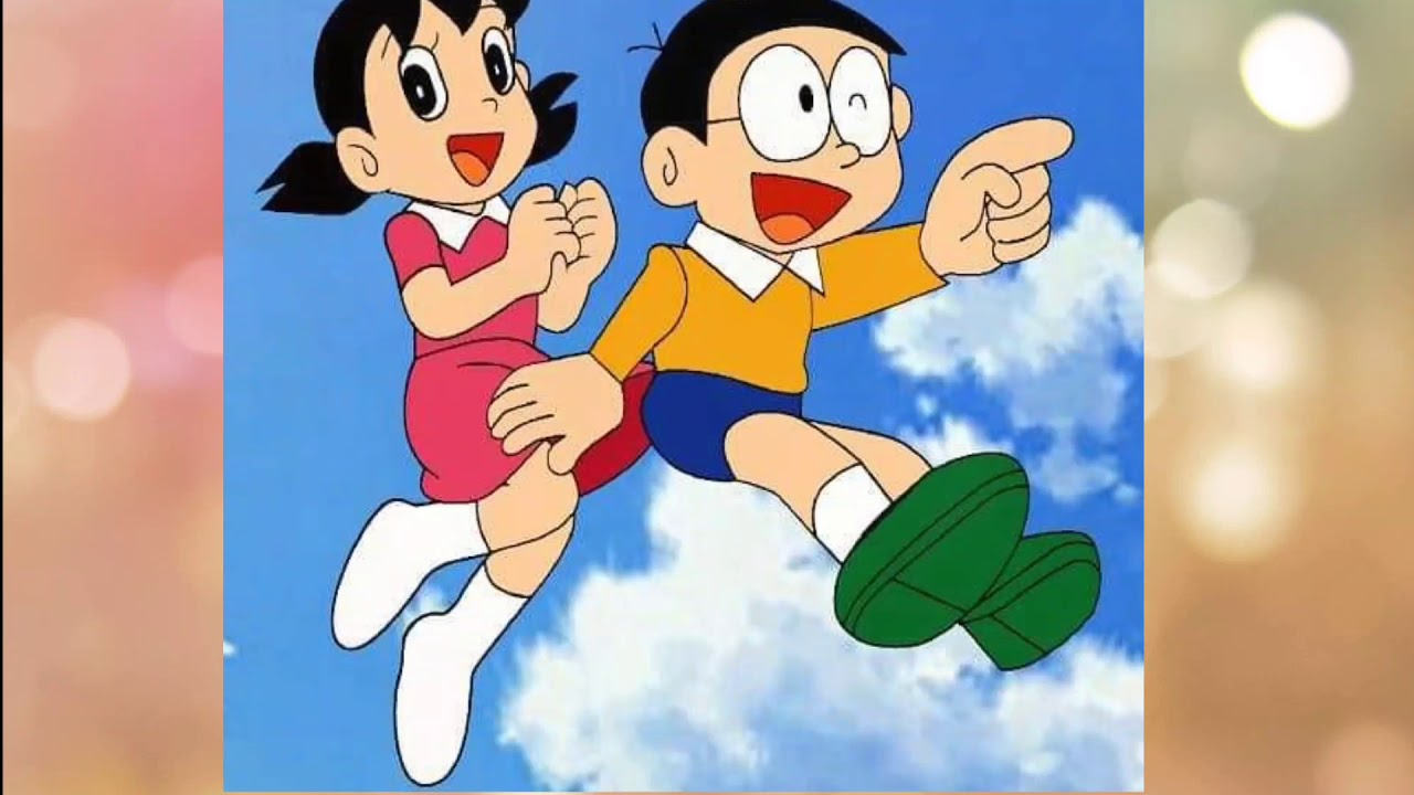 nobita shizuka love wallpaper hd