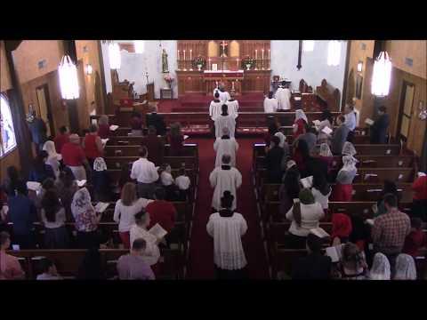 Holy Mass - Pentecost Sunday - June 4th, 2017