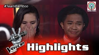 The Voice Teens Philippines Live Show: Team Bamboo Top 2 Announcement