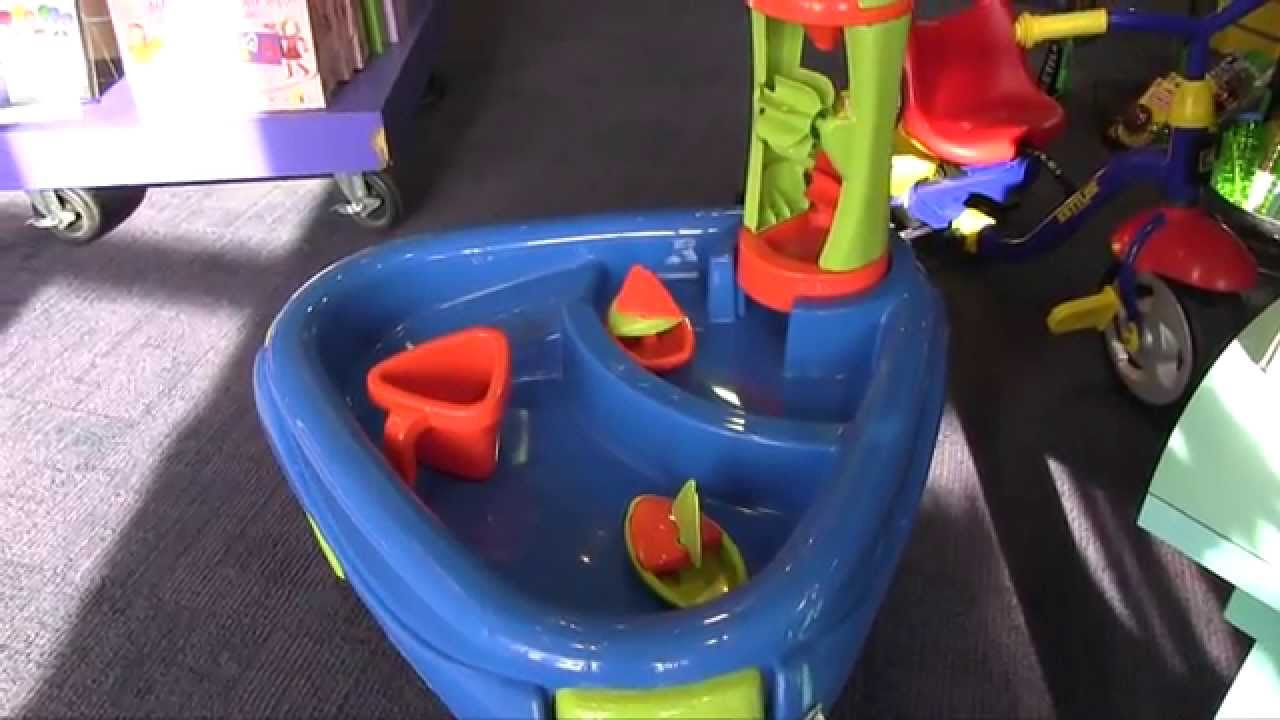 Sand And Water Wheel Play Table From Creative Kidstuff