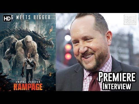 Producer Beau Flynn - Rampage European Premiere Interview