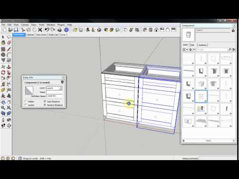CabinetSense: Cabinet Design Software for Sketchup.  Other Features