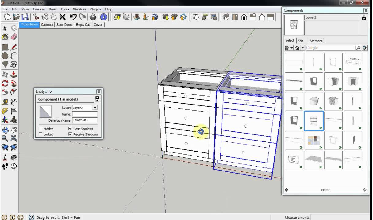 Cabinetsense cabinet design software for sketchup other for Planning software free