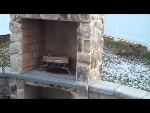 Outdoor Fireplace and Grill for Patios: orserlandscaping
