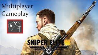 Sniper Elite 3 (PS4 Multiplayer Gameplay)