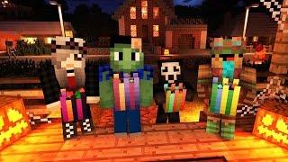 QUASE MORREMOS DO CORAÇÃO NO HALLOWEEN! - Halloween Hunt (Minecraft 1.11) Feat. Galera thumbnail