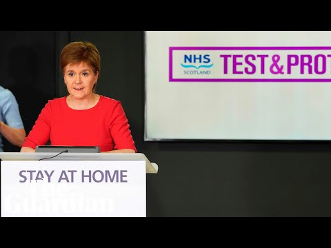 Coronavirus: Nicola Sturgeon holds Scotland briefing – watch live