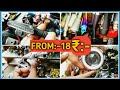 Cheapest Two Whiler Accessories | Indicator From RS 18 | Helmet From RS 89 | By Vlogger Tv