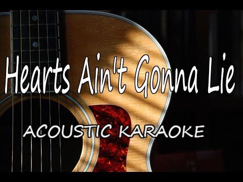 Arlissa - Hearts Ain't Gonna Lie (Acoustic Guitar Karaoke)