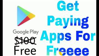 How to get paying apps for free
