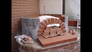 How to build a wood pizza oven. Come costruire un forno a legna | PETER 2012