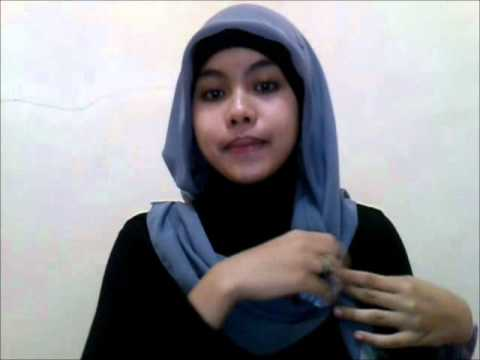 Hijab Tutorial Square Paris by dita #1