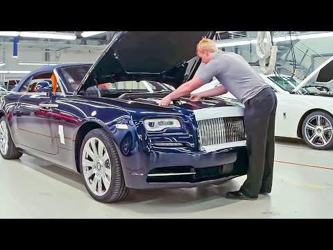 Rolls-Royce Manufacturing Plant [CAR FACTORY]