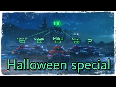 World of Tanks \\ HALLOWEEN SPECIÁL \\ SILNÁ PĚTKA 😎 18+ thumbnail