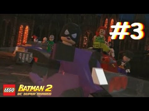 Lego Batman 2: DC Super Heroes - Part 3: Arkham City Estate (3DS)