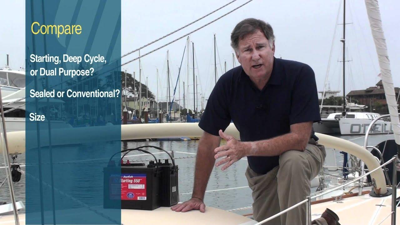 Selecting a Marine Storage Battery   West Marine