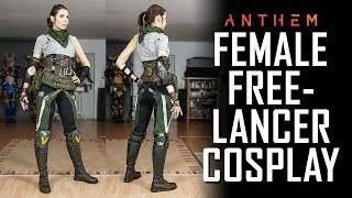 Freelancer Pilot Cosplay - Anthem