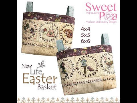 sweet pea embroidery # 59