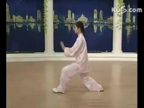 二十四式太极拳 世界冠军邱慧芳示范 7分钟口令领练 Taiji-24