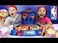 Arcade Basketball Game Toy Challenge  - LOL Surprise Dolls