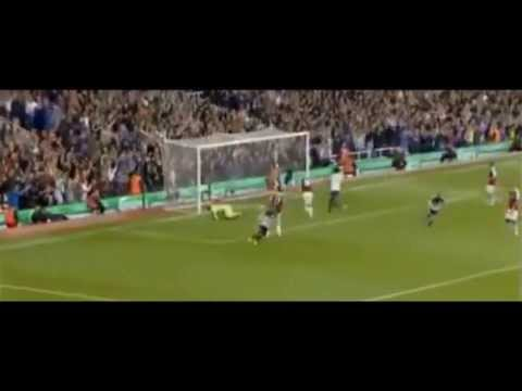 Leighton Baines 2 goals(free kicks) vs West Ham