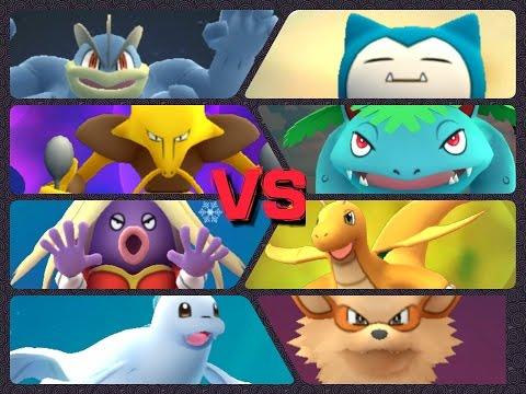 Pokémon GO Gym Battles Level 7 Gym Venusaur Jynx Dewgong Dragonite & more