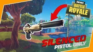 NIEUWE SILENCED PISTOL OVERPOWERED?! | Fortnite Battle Royale (Nederlands/NL)