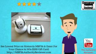 [Review & SALE] Motorola MBP36 Remote Wireless Video Baby Monitor
