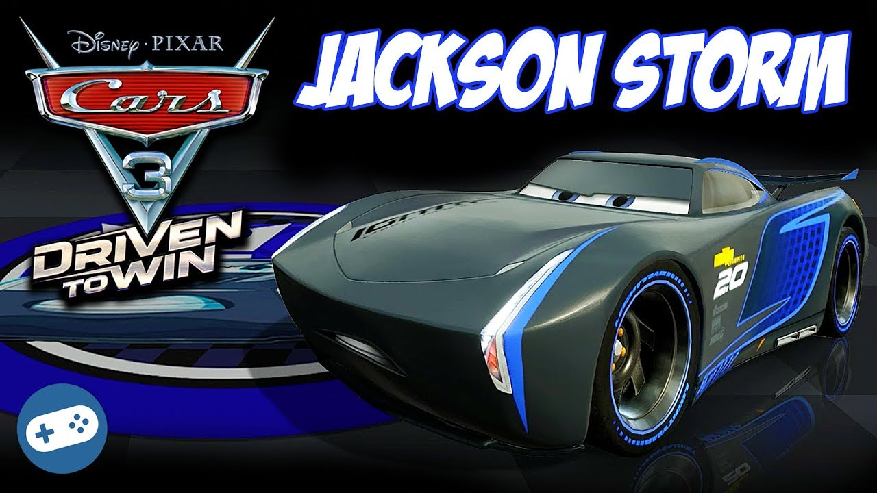 Jackson Storm Cars 3 Driven To Win Gameplay Best Of Races Youtube