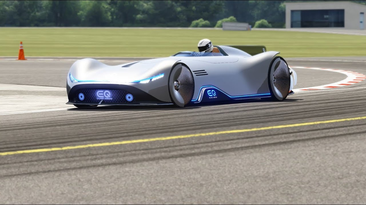 Mercedes-Benz Vision EQ Silver Arrow Concept 2018 Top Gear