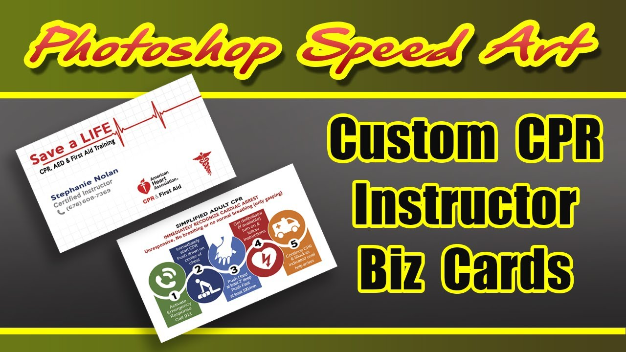 Custom cpr instructor business cards digital swagg youtube custom cpr instructor business cards digital swagg 1betcityfo Images
