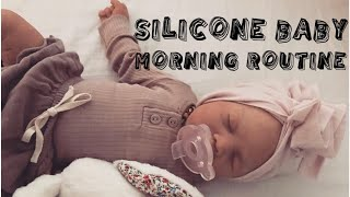 Silicone Baby Willows morning routine