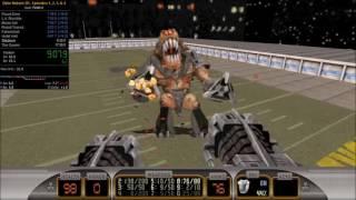Duke Nukem 3D Speedrun Episodes 1-4. Time: 17:19.5. (New WR).