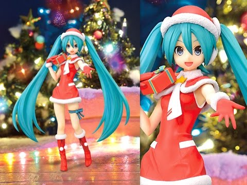 Hatsune Miku Project Diva- F 2nd SPM Figure - Christmas (SEGA ...