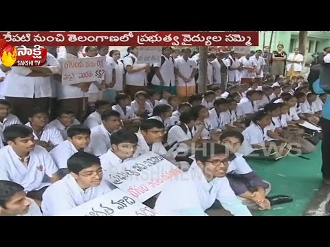 Govt.doctors on indefinite strike || Issues Strike Notice