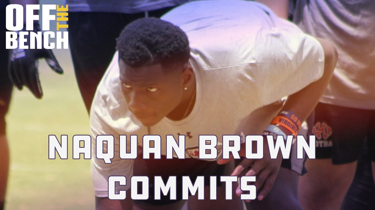 Jordy on Naquan Brown's commitment