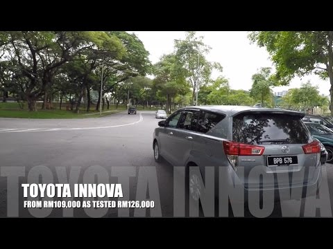 2017 Toyota Innova Full In Depth Review Malaysia | Bobby Ang