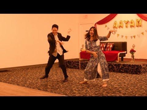Cham Cham | Badri ki Dulhania | Sweta & Jackson | Aayam's Rice Feeding Ceremony
