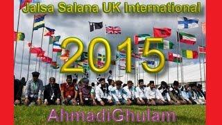 Jalsa Salana UK 2015 - Ismatullah Saheb - Nazam - Hamd o Sana Usi Ko