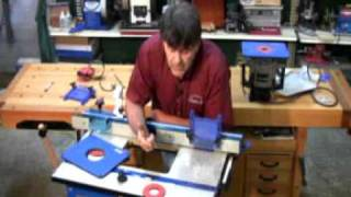 Kreg Precision Router Table System Presented By Woodcraft
