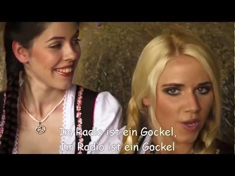 Немецкая песня. Kleine Küken piept. (субтитры - untertitlel)