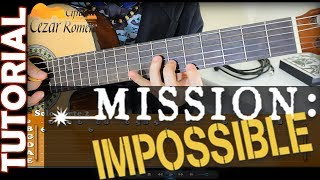 Aula de Violão Missão Impossivel TOM ORIGINAL para Iniciantes (mission impossible)