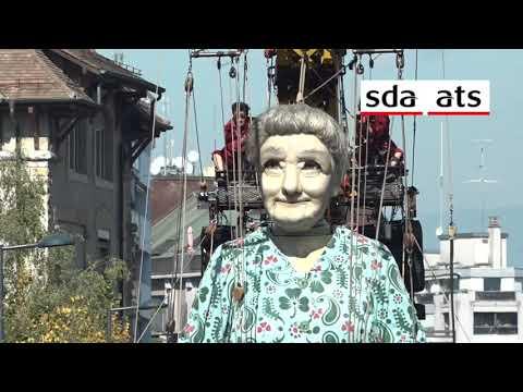 La Saga des géants enchante Genève - théâtre de rue - royal de luxe